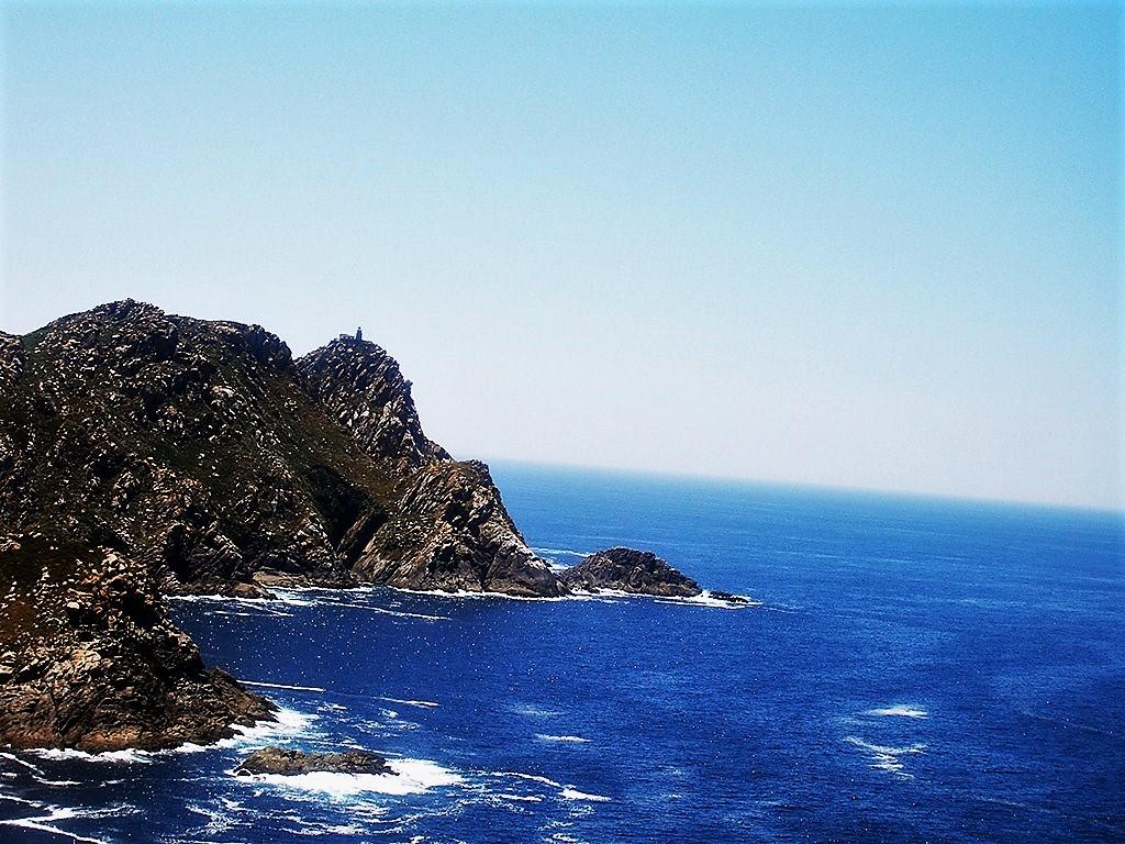 Vista de las Islas Cíes a pie de este paraíso.