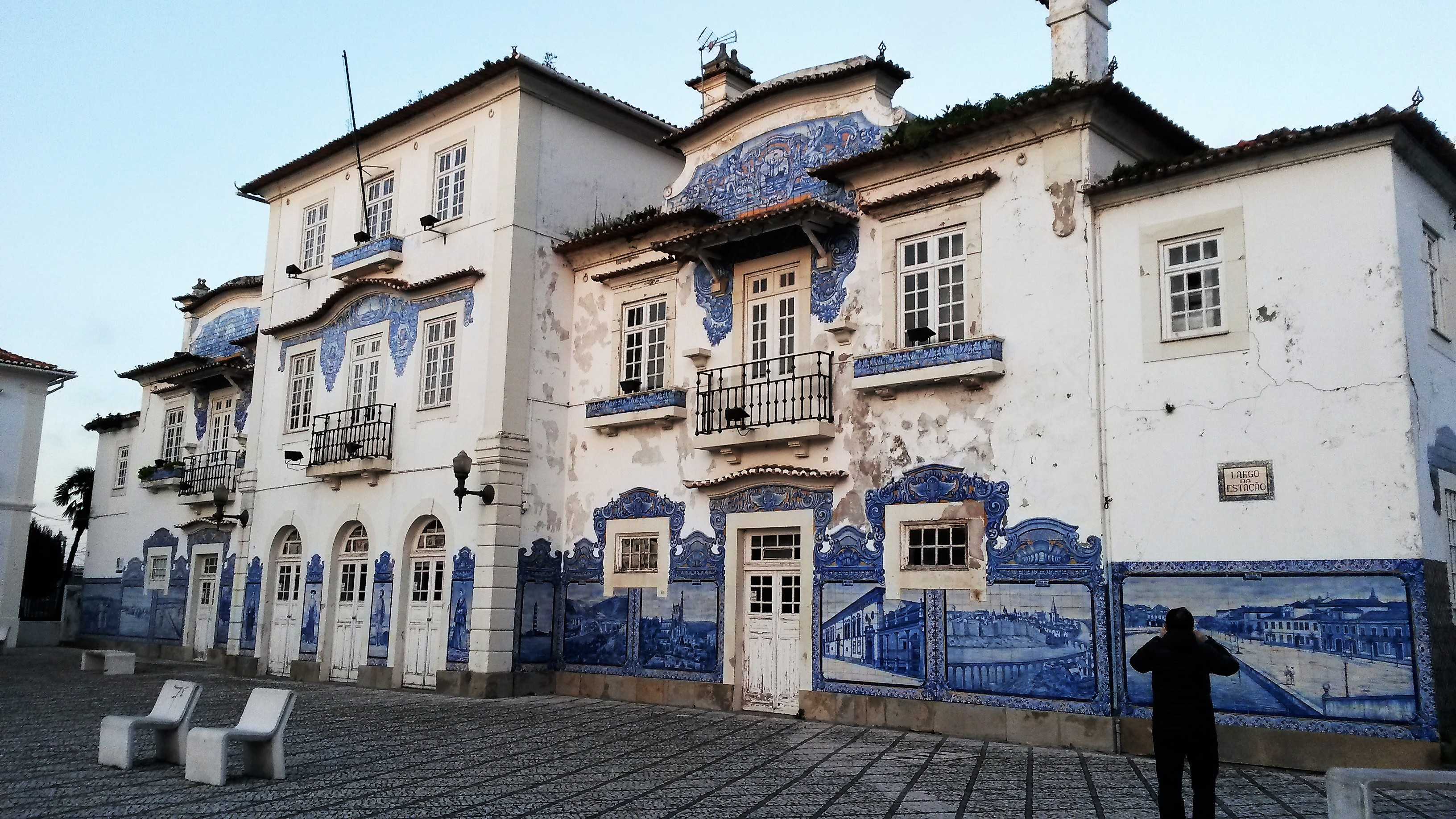 Estación tren de Aveiro