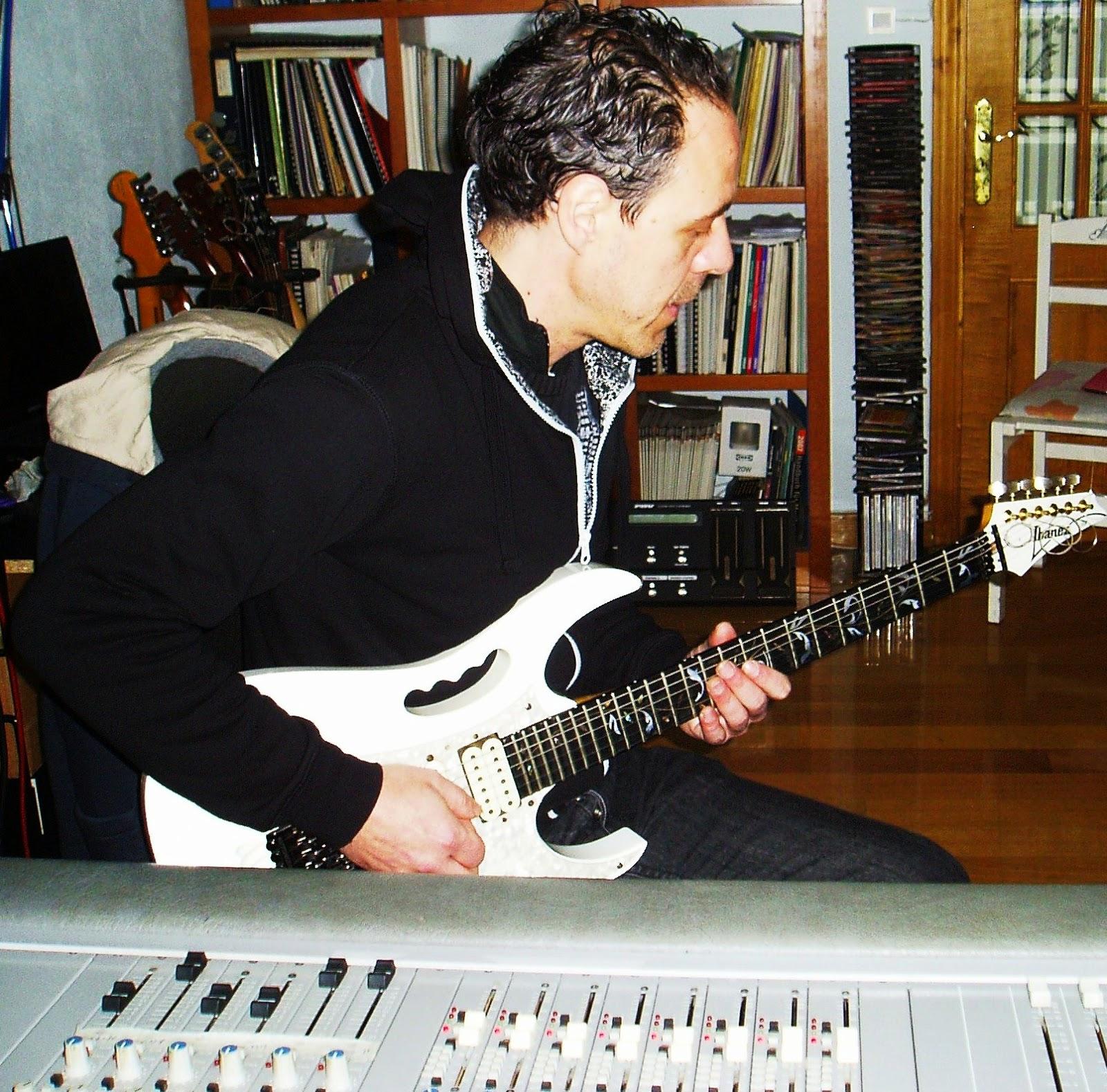 José Luis Prieto, guitarrista de O Barco