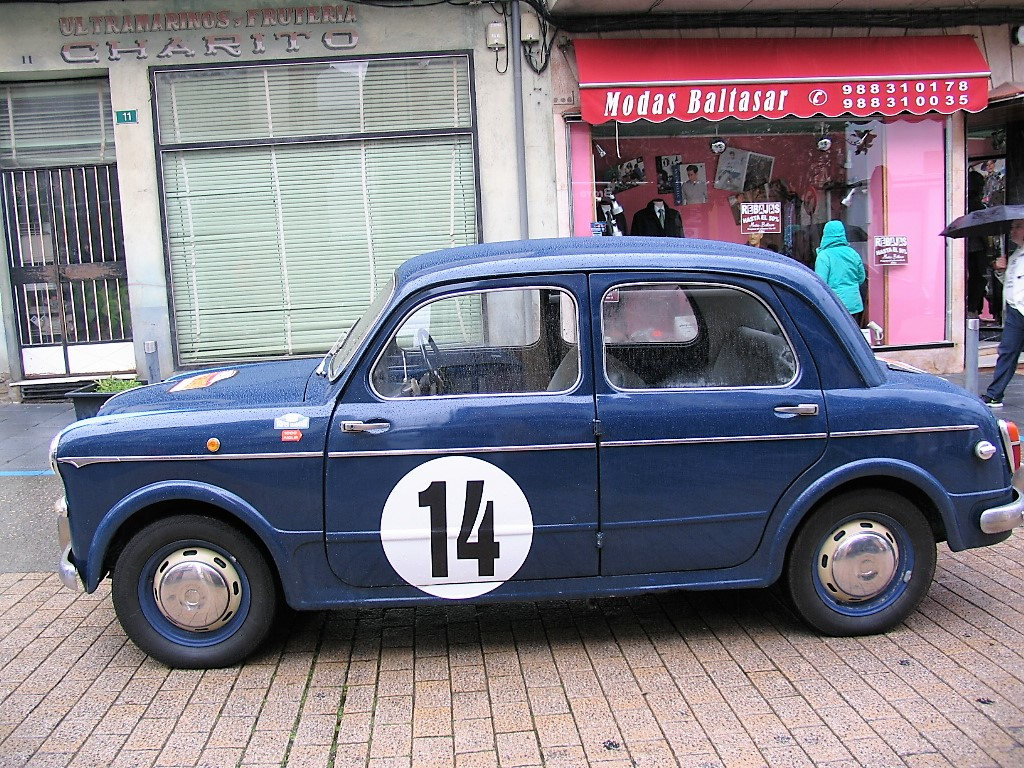 Fiat 1100 de 1953 del portugués Miguel García-Joao Serodio.