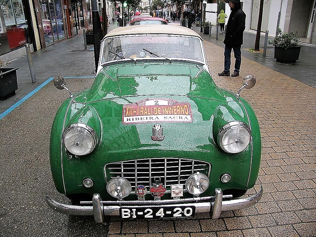 Triumph TR3 de 1955, de Bruno Rodriguez y Carmo Rodrigues, de Braga (Portugal)