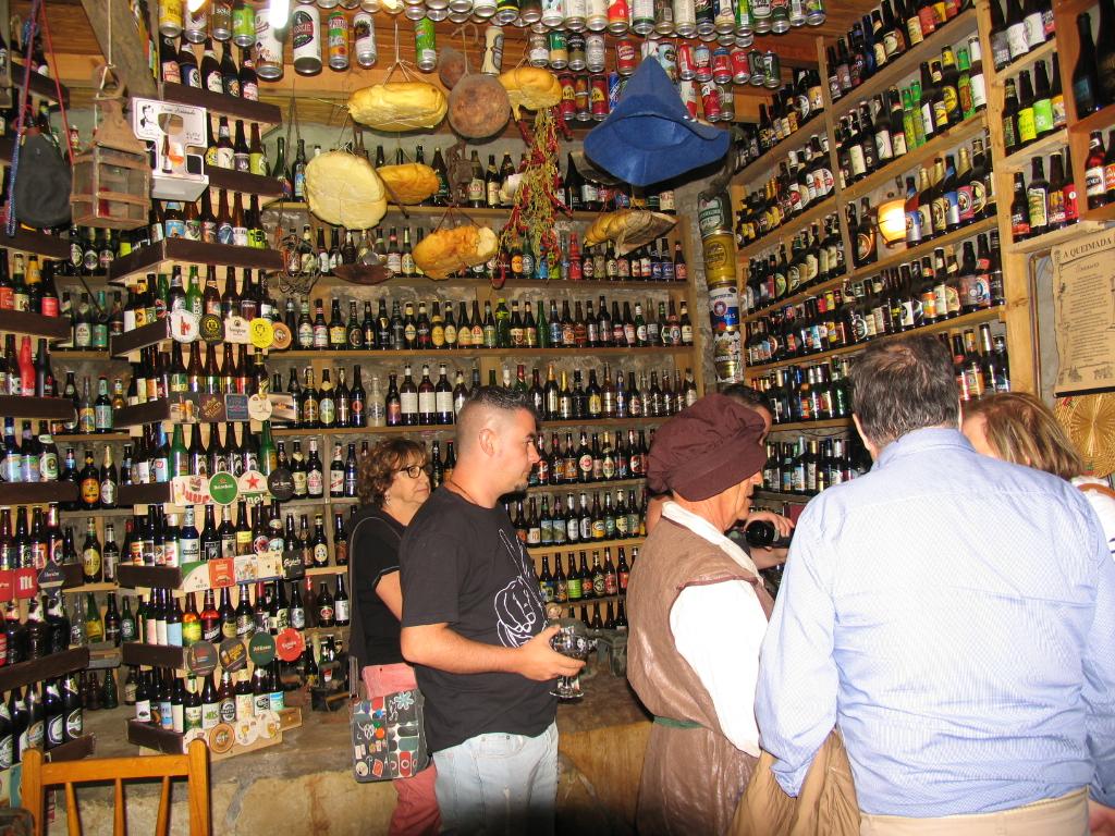 Visitas a la exposición de cervezas de parra