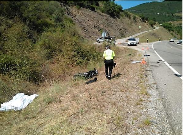 Investigado un implicado en un accidente en Larouco por homicido imprudente y conducción temeraria