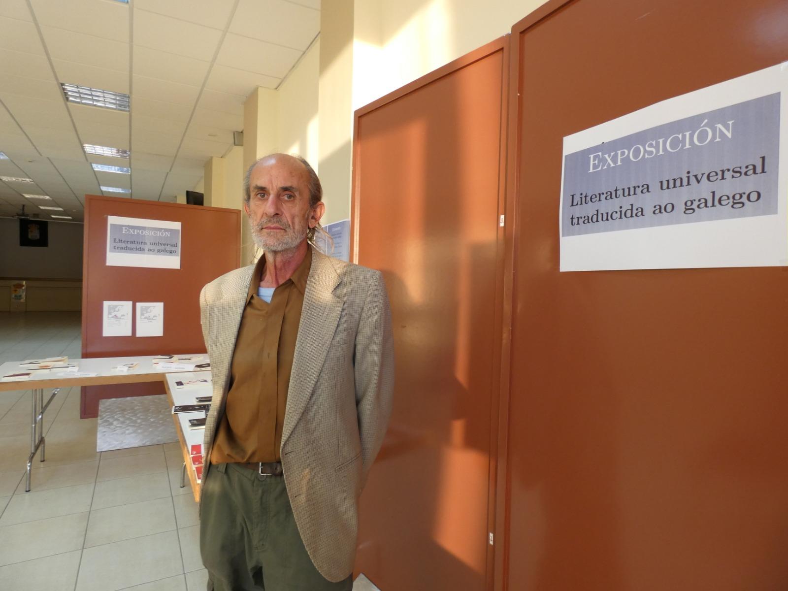 """Amancio Delgado: """"Vilamartín invita a conocer obras traducidas al gallego"""""""