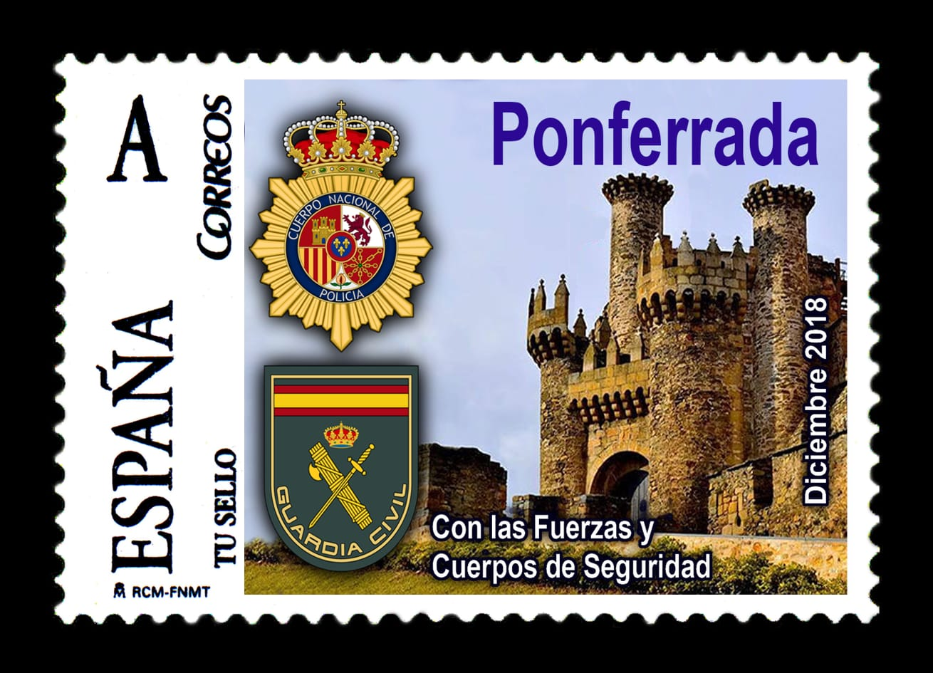 La colección filatélica policial de Manuel Moral se expondrá en el Museo del Bierzo de Ponferrada
