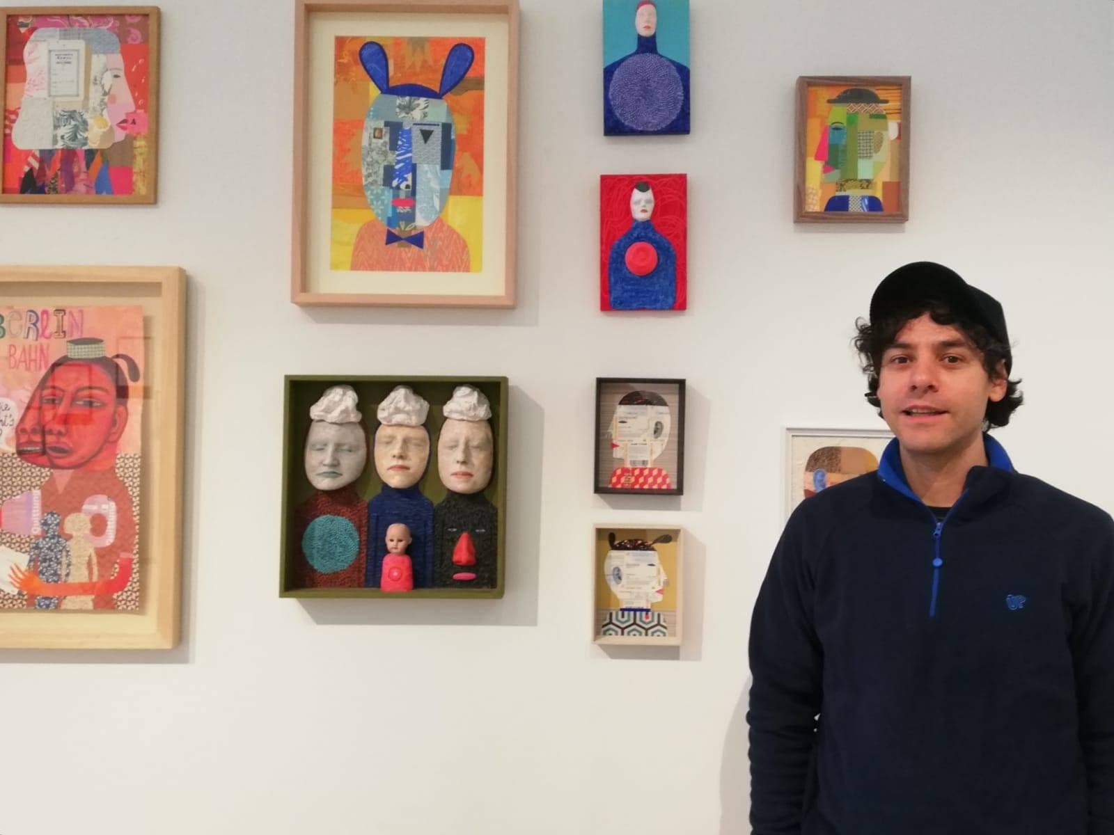 """Iván Prieto expone en Café Teatro Bajo Cinco de O Barco y """"Dosmilvacas"""" de Ponferrada"""