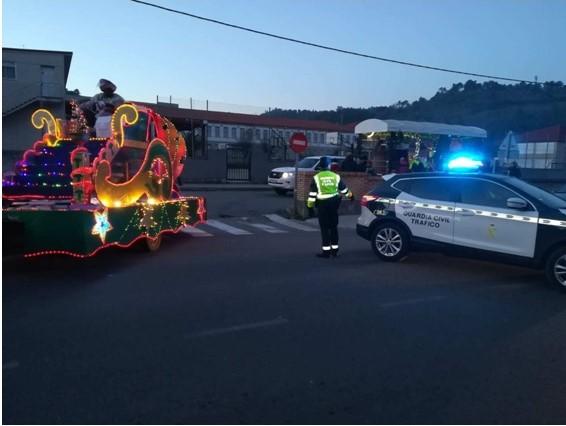 """Los conductores colaboraron con Tráfico en la """"campaña de Reyes"""""""