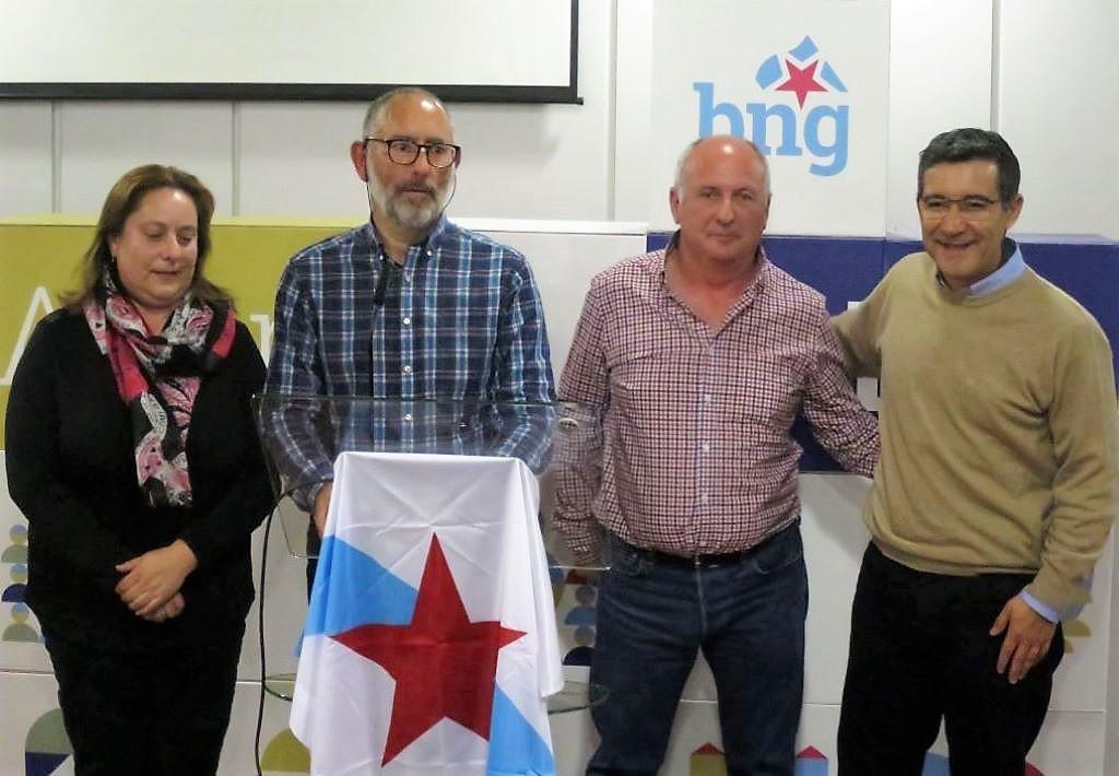 """Roberto Quiroga: """"fai falta un tren de altas prestacións pois o AVE non é a solución para a Galiza interior"""""""