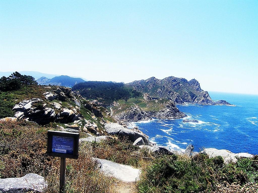 Un rincón de las islas Cíes para perderse.