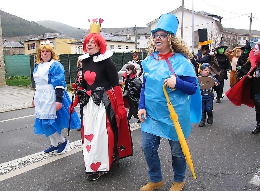 desfile a rua