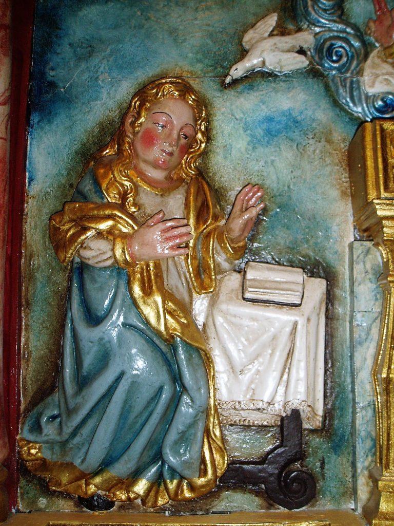 Parte del retablo de la capilla de Cambela