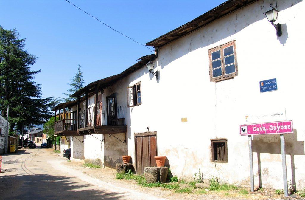 Exterior de la Casa Gayoso
