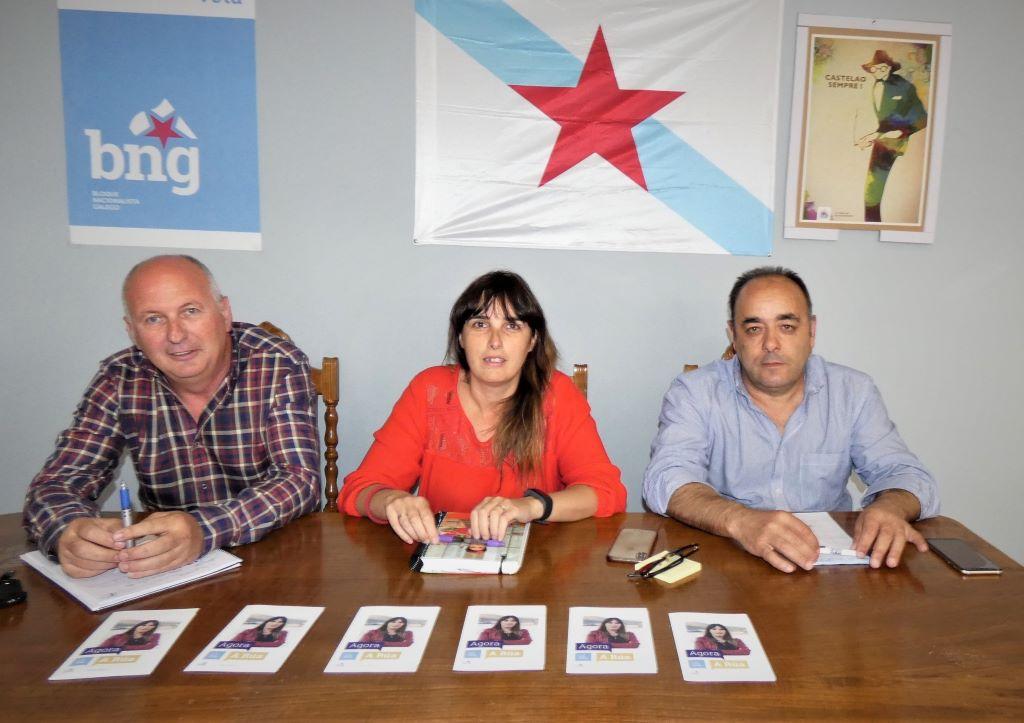 """María Albert: """"confío en que o BNG gobernará, o RUA é unha muleta do PP"""""""