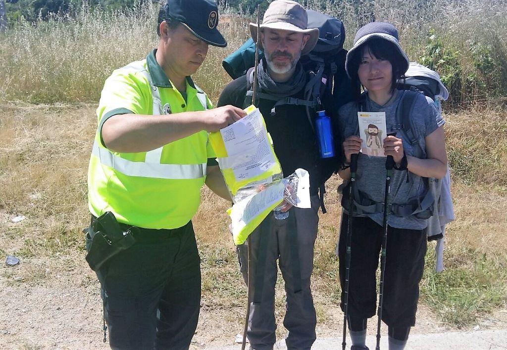 La Guardia Civil pone en marcha una aplicación para geolocalizar a los peregrinos