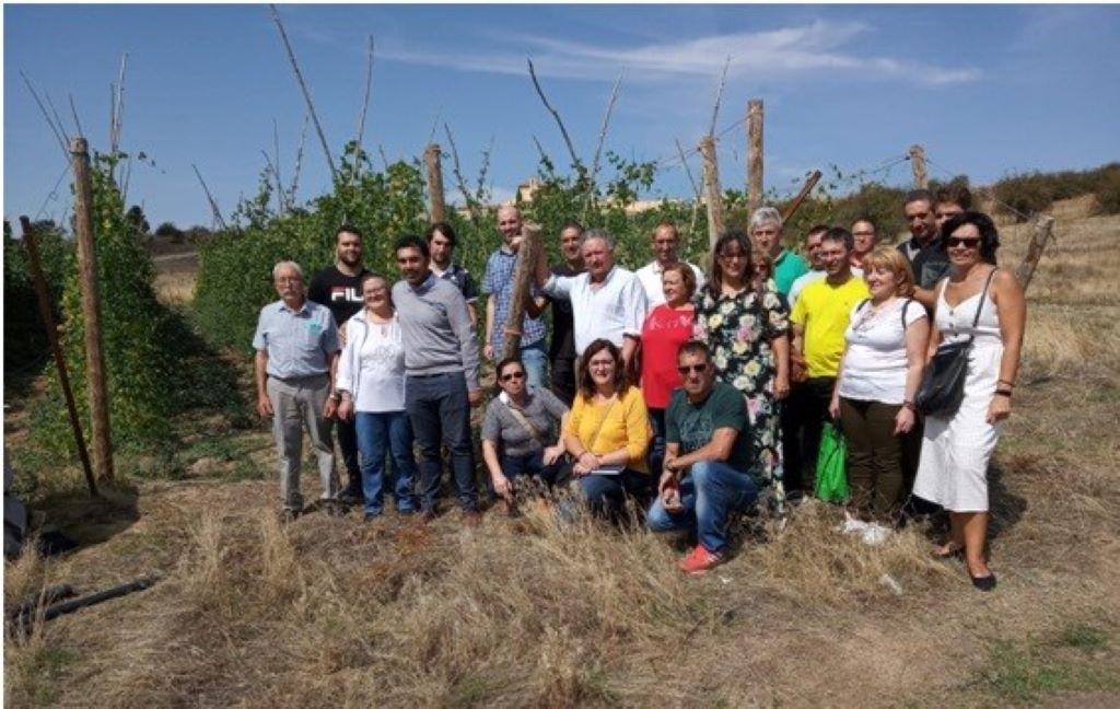 """Los promotores de la """"Faba Loba""""  visitan la Granja de San Ildefonso"""