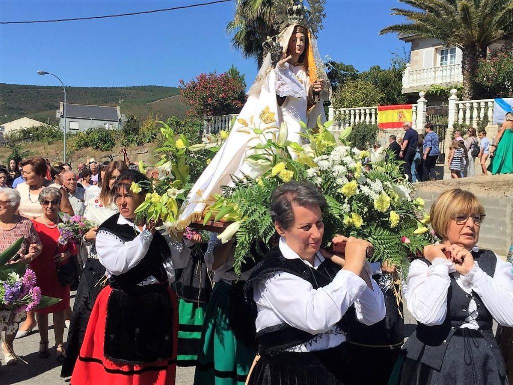 Larouco despidió las Fiestas de la Virgen de Los Remedios