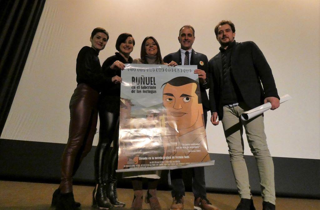 """A Rúa celebra el Goya de la película extremeña """"Buñuel en el laberinto de las tortugas"""""""