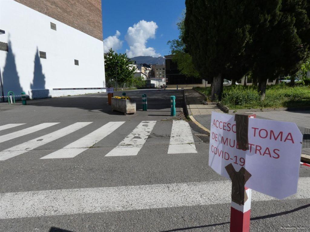 550 trabajadores de residencias de Valdeorras se someten a test de COVID