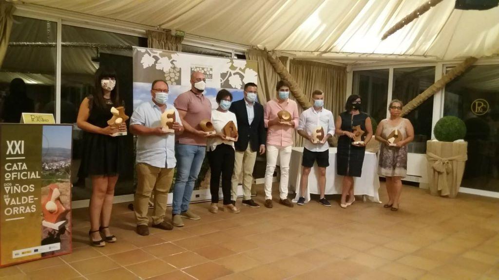 Noche de gala del vino: el Consello entregó los premios de la Cata Oficial