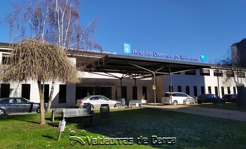 Un ingreso por COVID-19 en el Hospital de Valdeorras