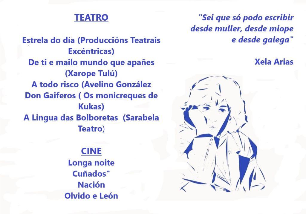 Teatro y cine para festejar las Letras Galegas en O Barco