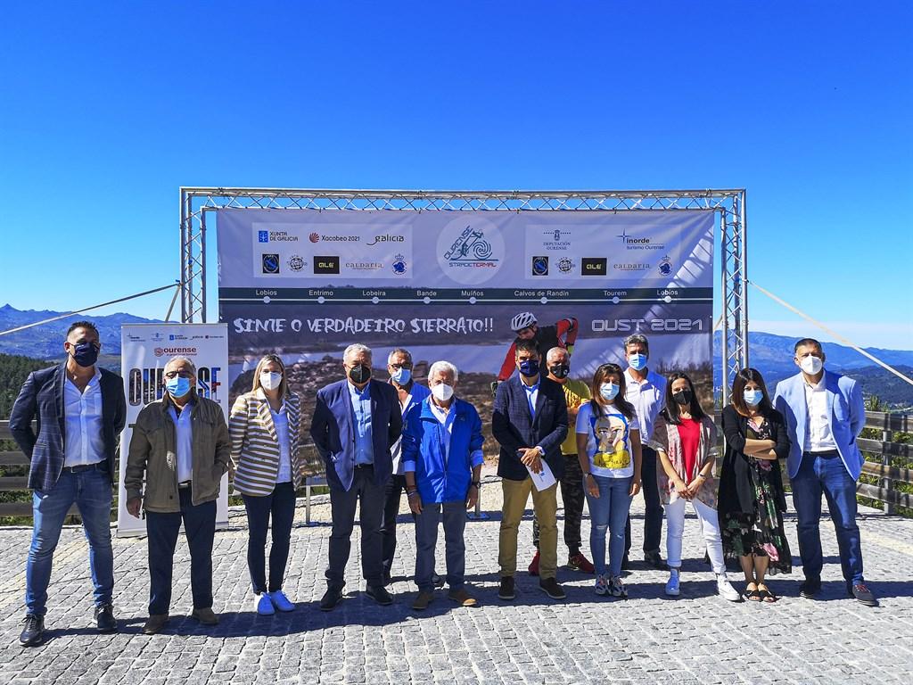 """La """"Ourense Strade Termal"""":  cicloturismo en la mágica Baixa Limia"""