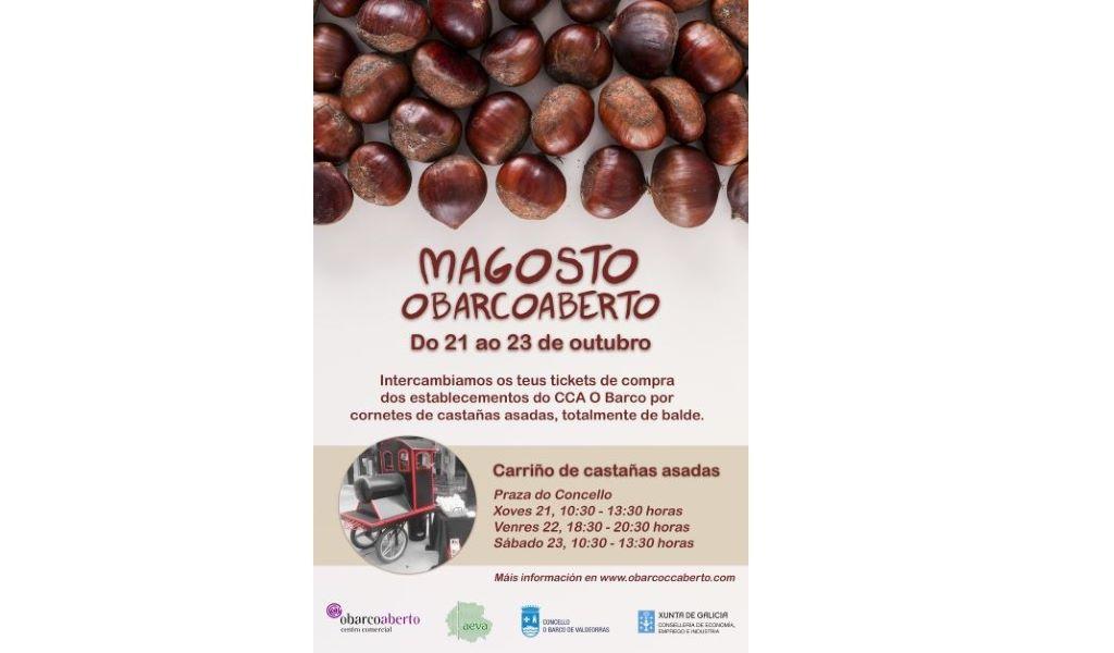 Magosto ObarcoAberto: castañas con el ticket de la compra