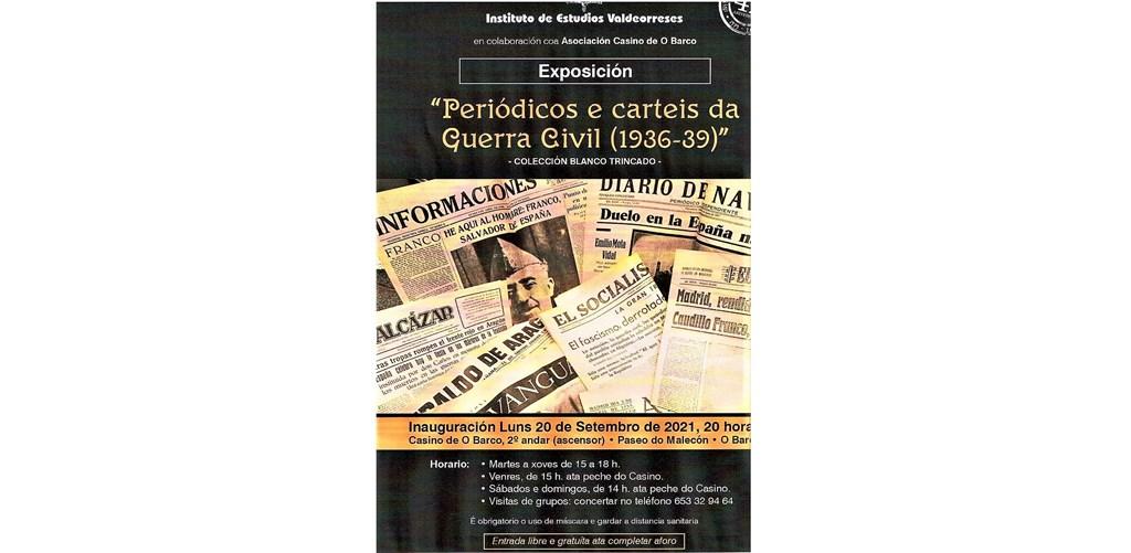 Exposición sobre la Guerra Civil en el Casino de O Barco